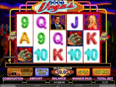 Play slots at TS: TS featuring the Video Slots Just Vegas with a maximum payout of $20,000