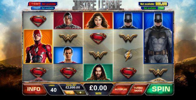 Justice League :: Main Game Board