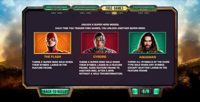 Justice League :: Super Hero Modes