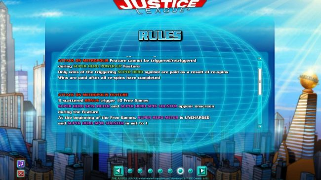 Attack on Metropolis Feature Rules