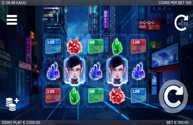 Play slots at Casino Luck: Casino Luck featuring the Video Slots Kaiju with a maximum payout of $130,440