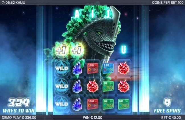 Kaiju :: Multiple winning paylines