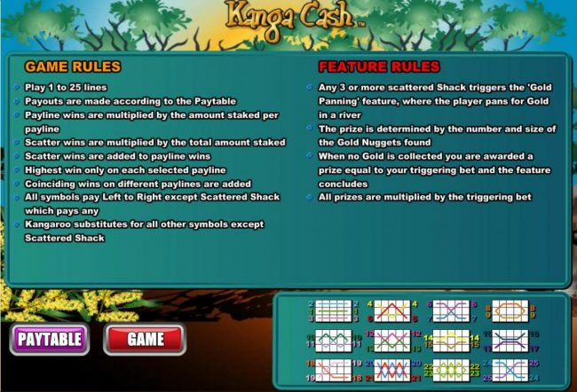 Play slots at Intertops Classic: Intertops Classic featuring the Video Slots Kanga Cash with a maximum payout of $100,000
