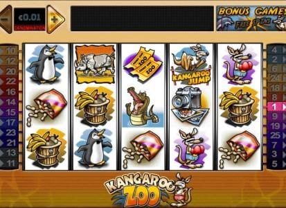 Play slots at Winstar: Winstar featuring the Video Slots Kangaroo Zoo with a maximum payout of $100,000