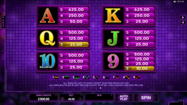TheBesCasino featuring the Video Slots Karaoke Party with a maximum payout of $150,000