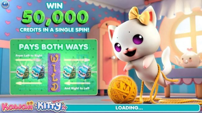 Play slots at Bella Vegas: Bella Vegas featuring the Video Slots Kawaii Kitty with a maximum payout of $500,000