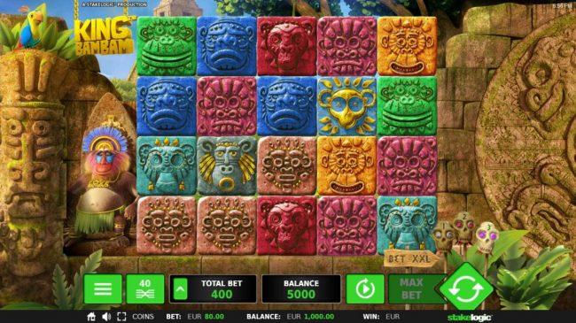 King Bam Bam :: Main Game Board