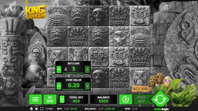 King Bam Bam :: Betting Options