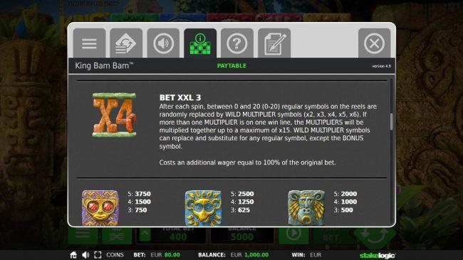King Bam Bam :: Bet XXL 3 Rules