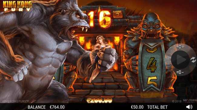 King Kong Fury :: 16 free games awarded