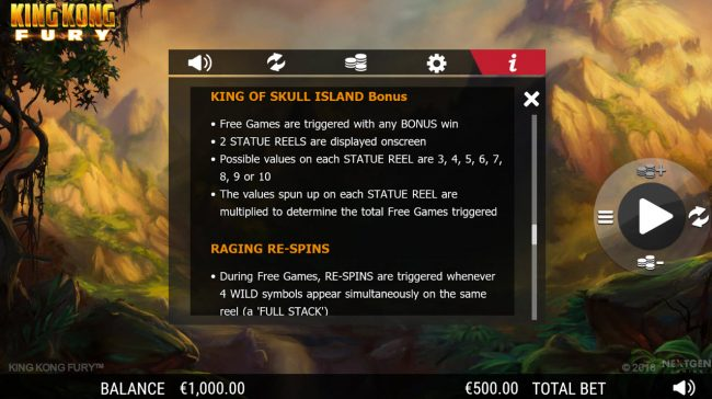 King Kong Fury :: King of Skull Island Bonus