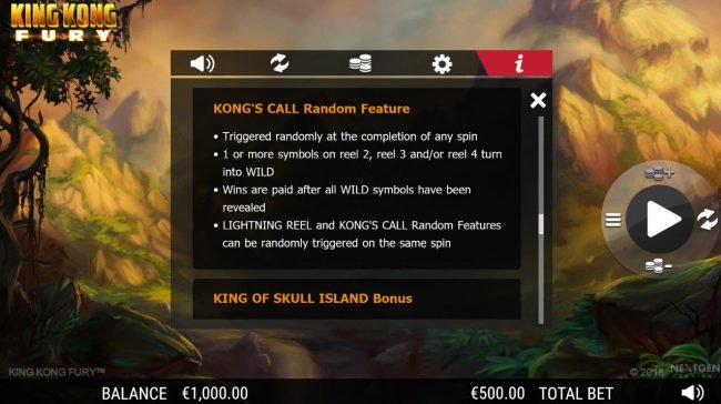 King Kong Fury :: Kong's Call Random Feature