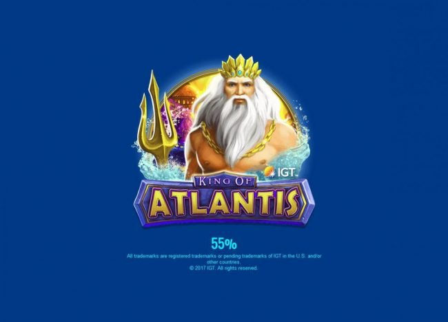 Betfair featuring the Video Slots King of Atlantis with a maximum payout of $25,000,000
