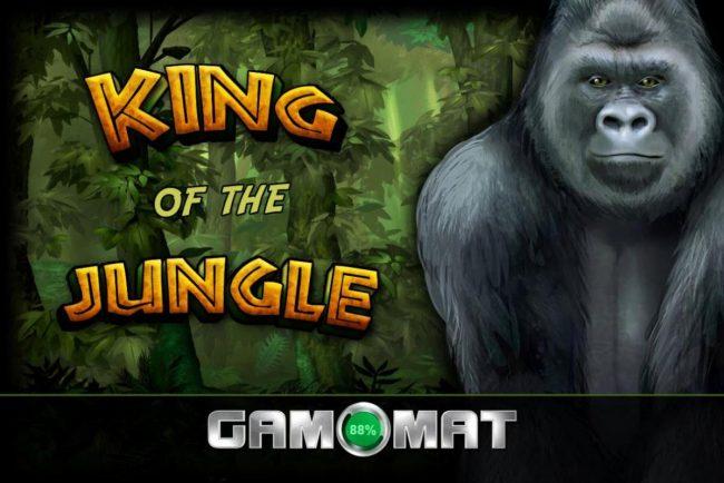 King of the Jungle :: Splash screen - game loading