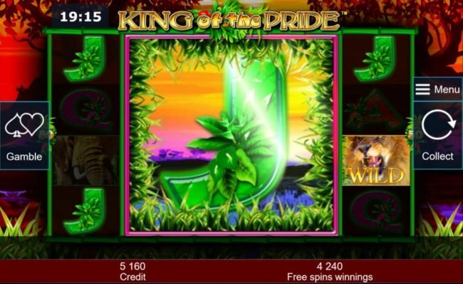 Colossal reel triggers a 2,070 big win during the free spins feature.