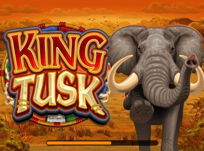Play slots at Royal Vegas: Royal Vegas featuring the Video Slots King Tusk with a maximum payout of $62,000