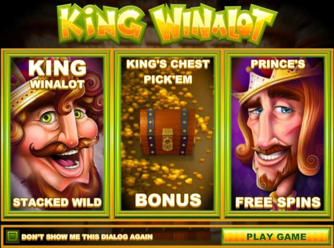 Play slots at Lotus Asia: Lotus Asia featuring the Video Slots King Winalot with a maximum payout of $12,500