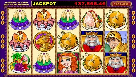 Play slots at First Web: First Web featuring the Video Slots King Cashalot 5 Reel with a maximum payout of Jackpot