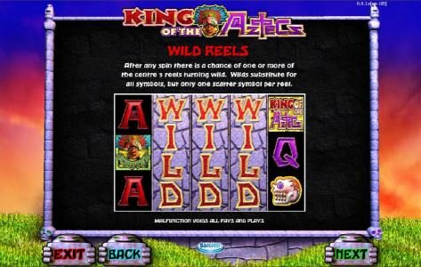Grand Ivy featuring the Video Slots King of the Aztecs with a maximum payout of $10,000