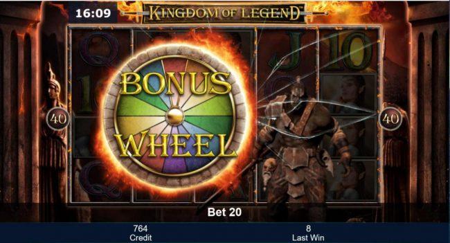 Orc Bonus triggers the Bonus Wheel feature.
