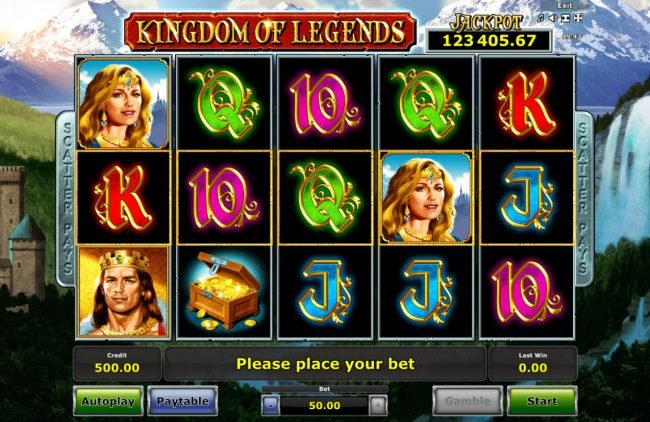 Play slots at Money Storm: Money Storm featuring the Video Slots Kingdom of Legends with a maximum payout of Jackpot