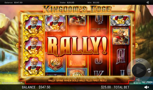 CasinoCasino featuring the Video Slots Kingdoms Edge 95 with a maximum payout of $30,000