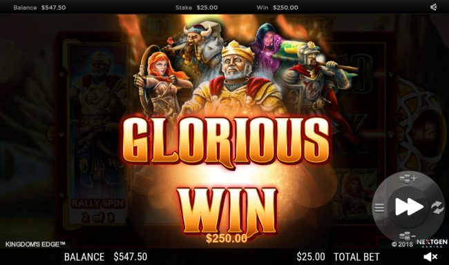 Cheeky Riches featuring the Video Slots Kingdoms Edge 95 with a maximum payout of $30,000