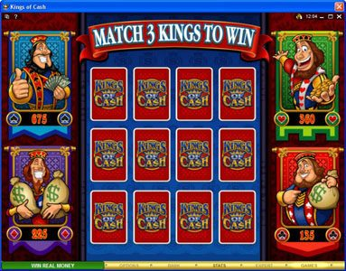 Play slots at Lucky 247: Lucky 247 featuring the Video Slots Kings of Cash with a maximum payout of $500,000