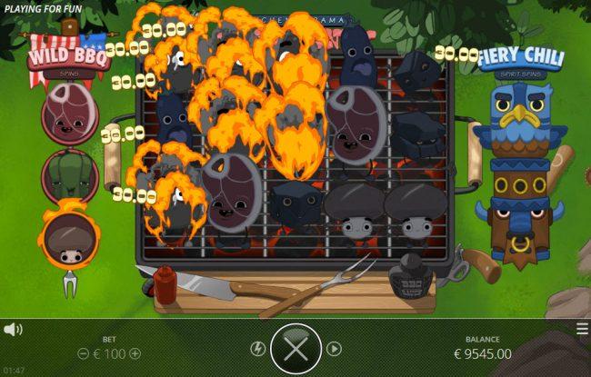 Kitchen Drama BBQ Frenzy :: Multiple winning paylines