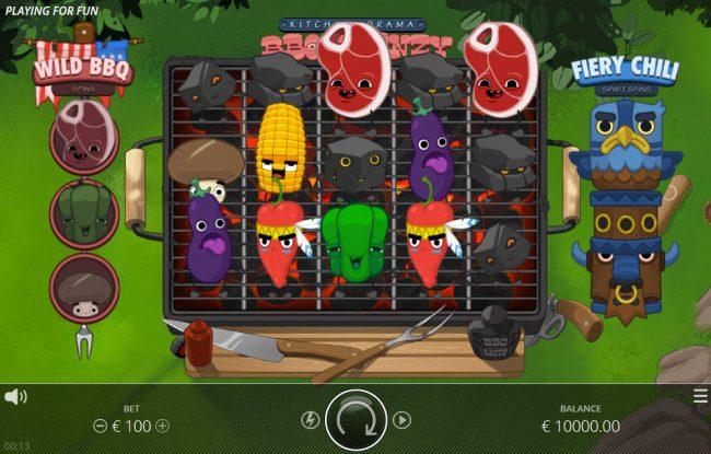 Kitchen Drama BBQ Frenzy :: Main Game Board