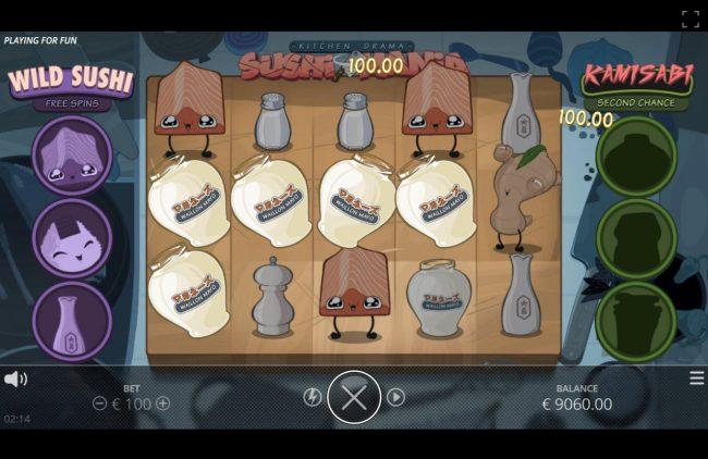 Kitchen Drama Sushi Mania :: Multiple winning paylines