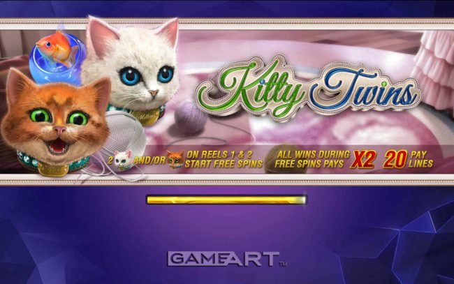 Play slots at Cyber Spins: Cyber Spins featuring the Video Slots Kitty Twins with a maximum payout of $500