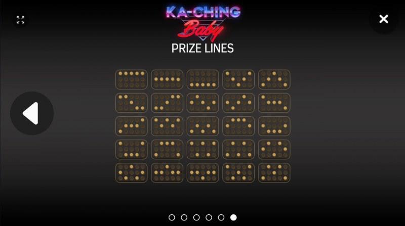Ka-Ching Baby :: Paylines 1-25