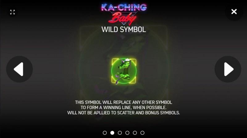 Ka-Ching Baby :: Wild Symbols Rules