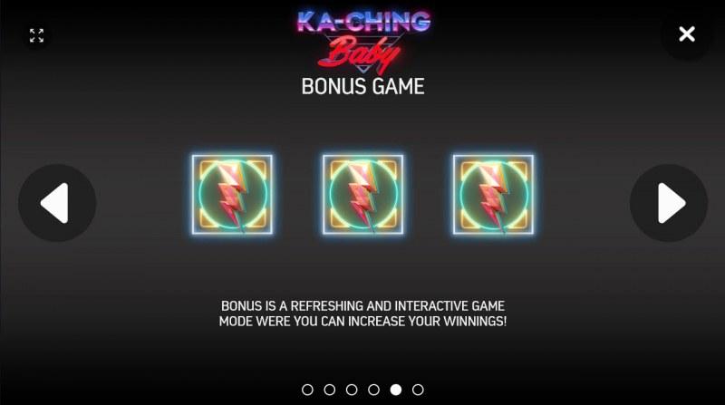 Ka-Ching Baby :: Bonus Game Rules