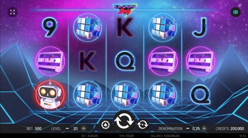 Ka-Ching Baby :: Main Game Board