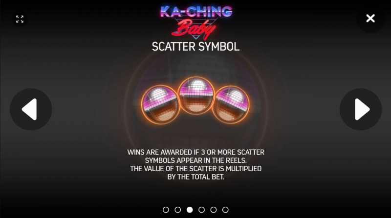 Ka-Ching Baby :: Scatter Symbol Rules