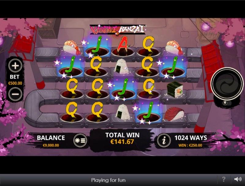 Kanpai Banzai :: Multiple winning combinations