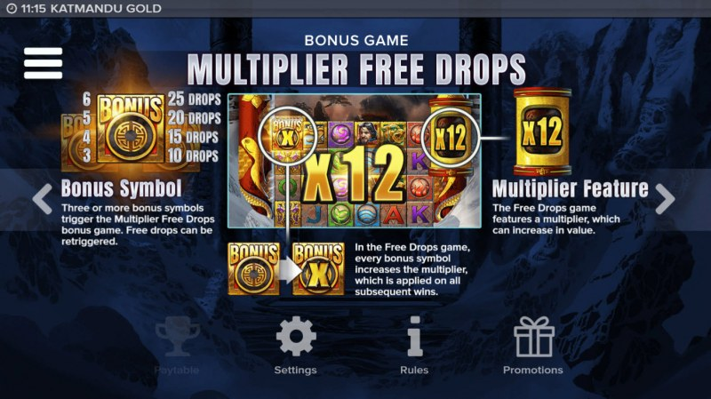 Katmandu Gold :: Multiplier Free Drops