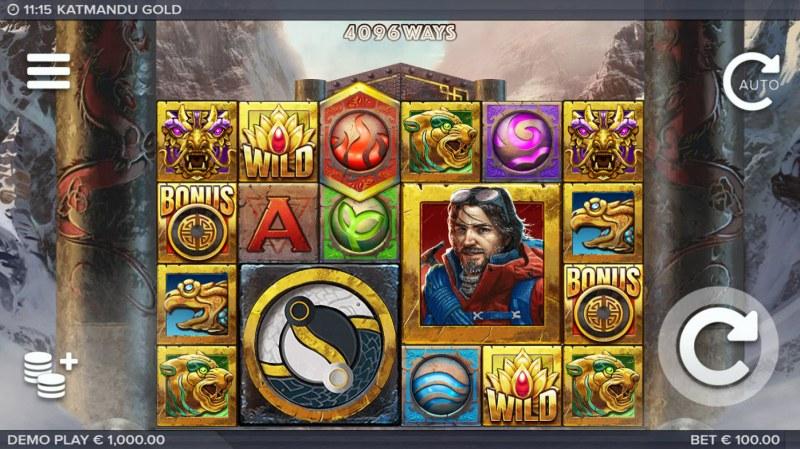 Katmandu Gold :: Main Game Board