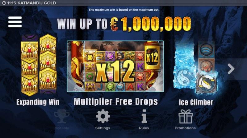 Katmandu Gold :: Win Up To $1,000,000