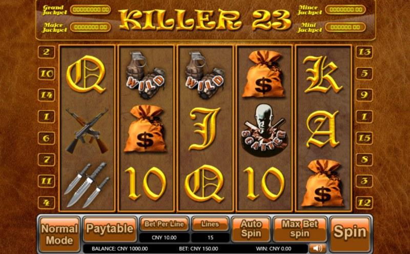 Killer 23 :: Main Game Board