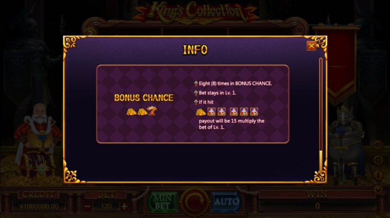 King Collection :: Bonus Game Rules