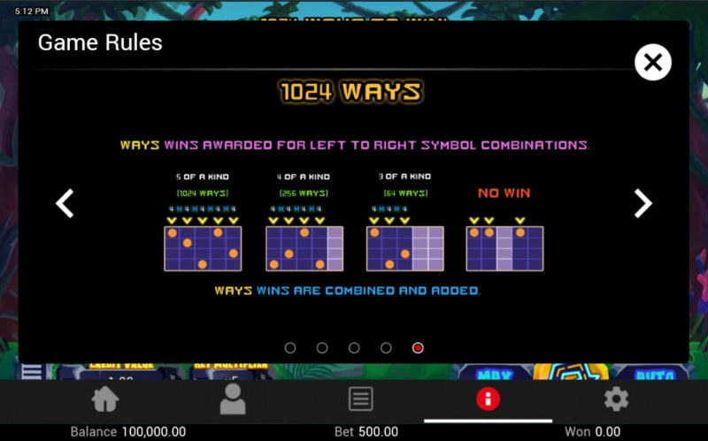 King Dinosaur :: 1024 Ways to Win