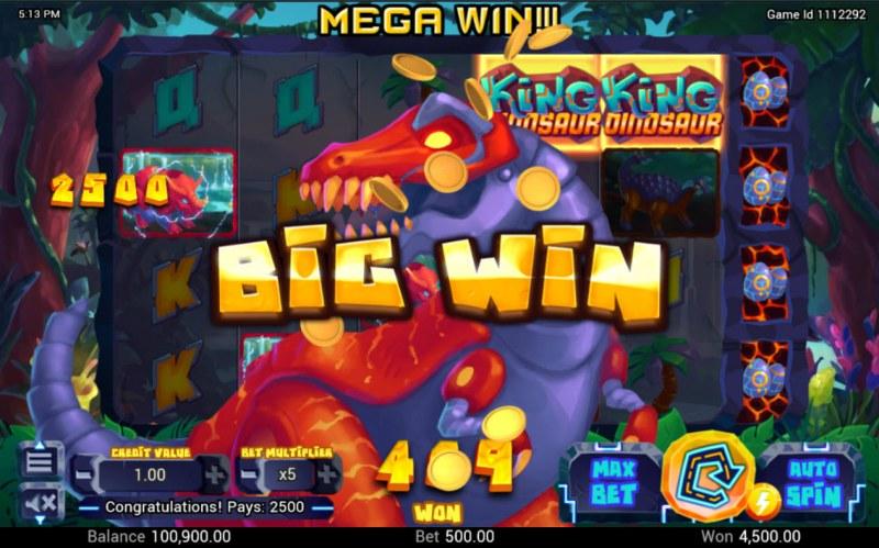 King Dinosaur :: Big Win