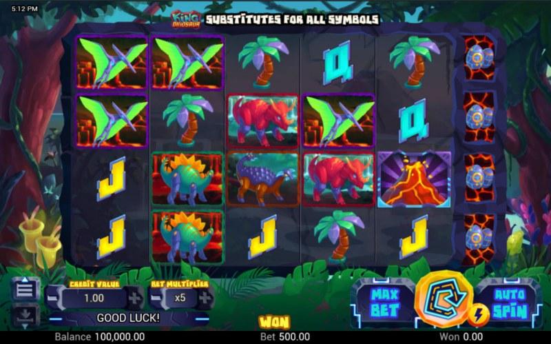 King Dinosaur :: Main Game Board