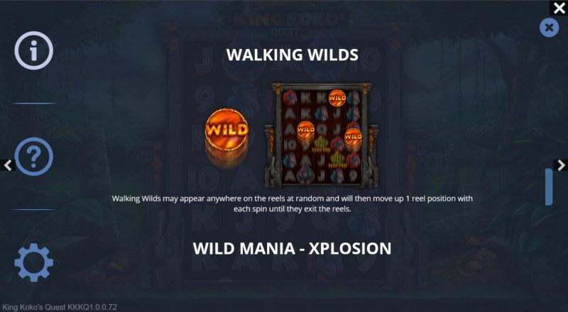 King Koko's Quest :: Walking Wild
