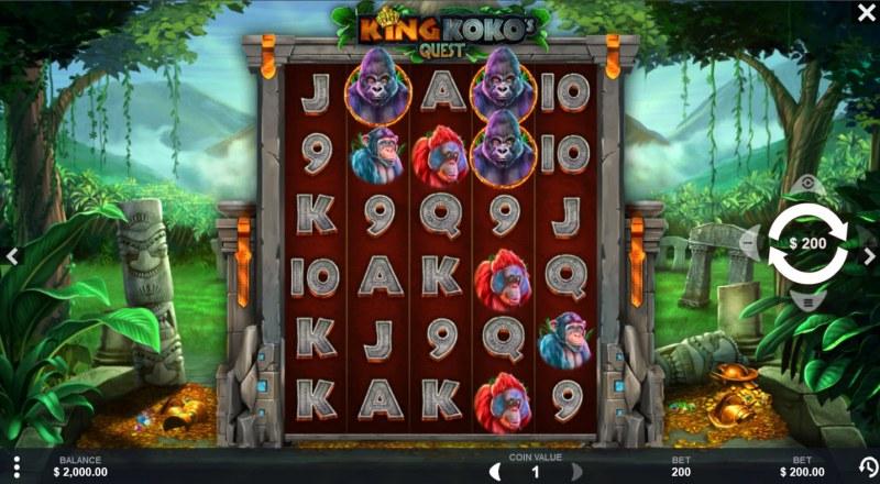 King Koko's Quest :: Base Game Screen