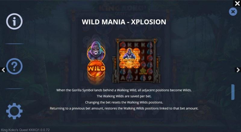 King Koko's Quest :: Wild Mania - Xplosion