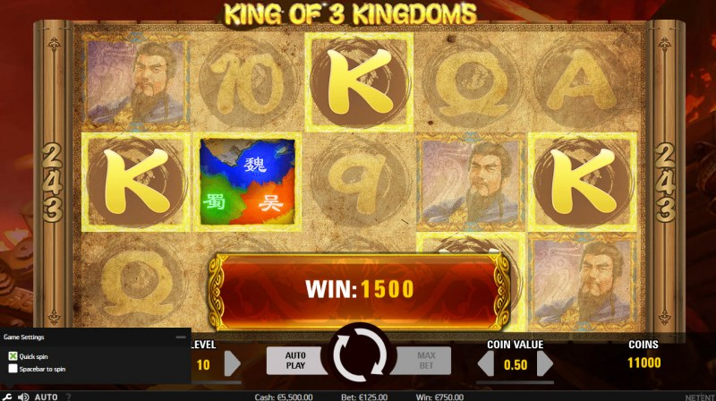 King of 3 Kingdoms :: Five of a kind
